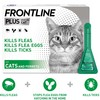 FRONTLINE Plus Flea and Tick Treatment for Cats and Ferrets