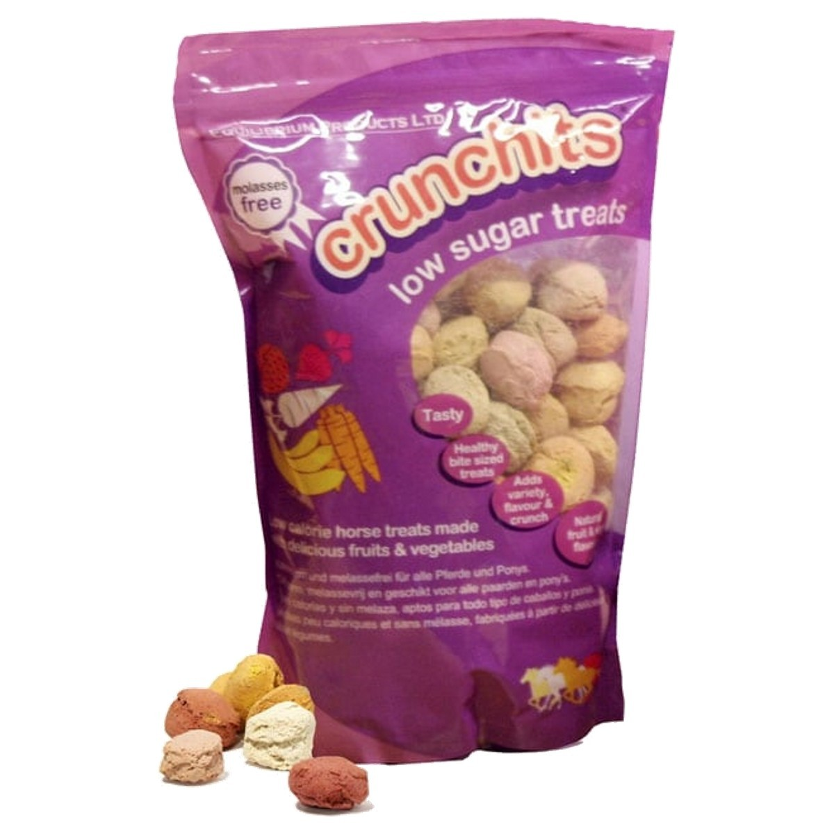 Equilibrium Crunchits Low Sugar Treats For Horses 750g From 4 79