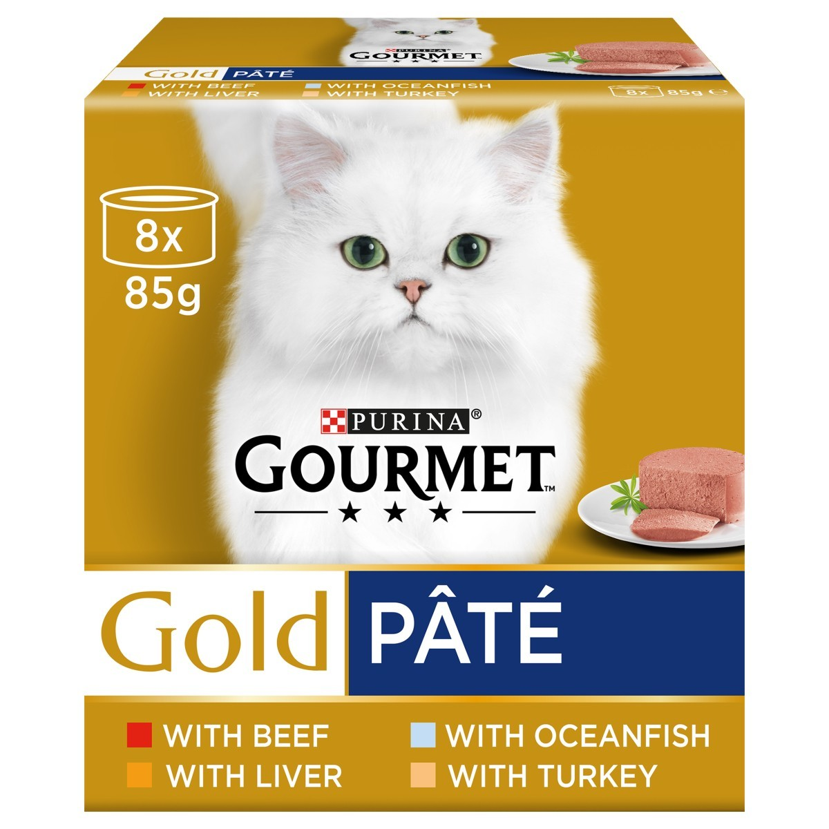Purina Gourmet Gold Pate Wet Cat Food Tins Variety Pack From 3 01