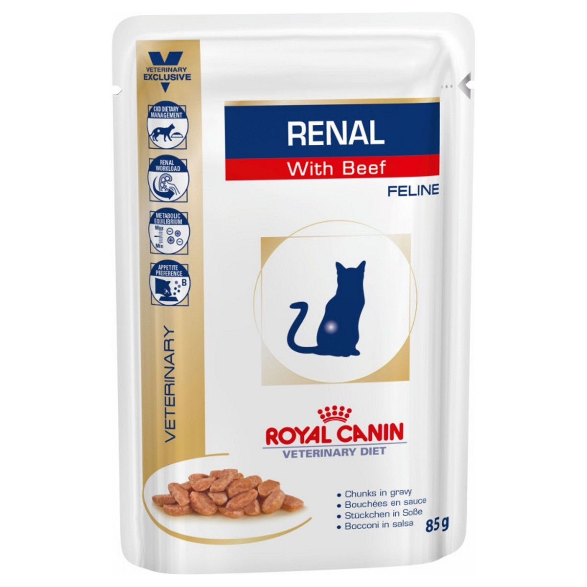 Royal Canin Renal Pouches For Cats From 9 14