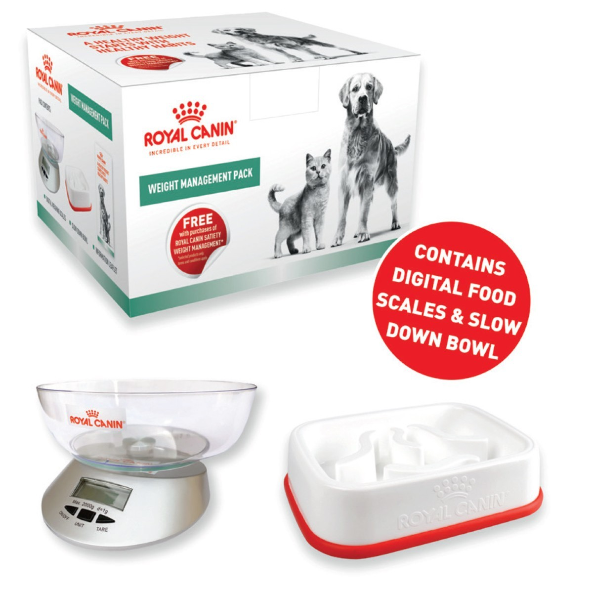 Royal Canin Weight Management Pack From 19 99