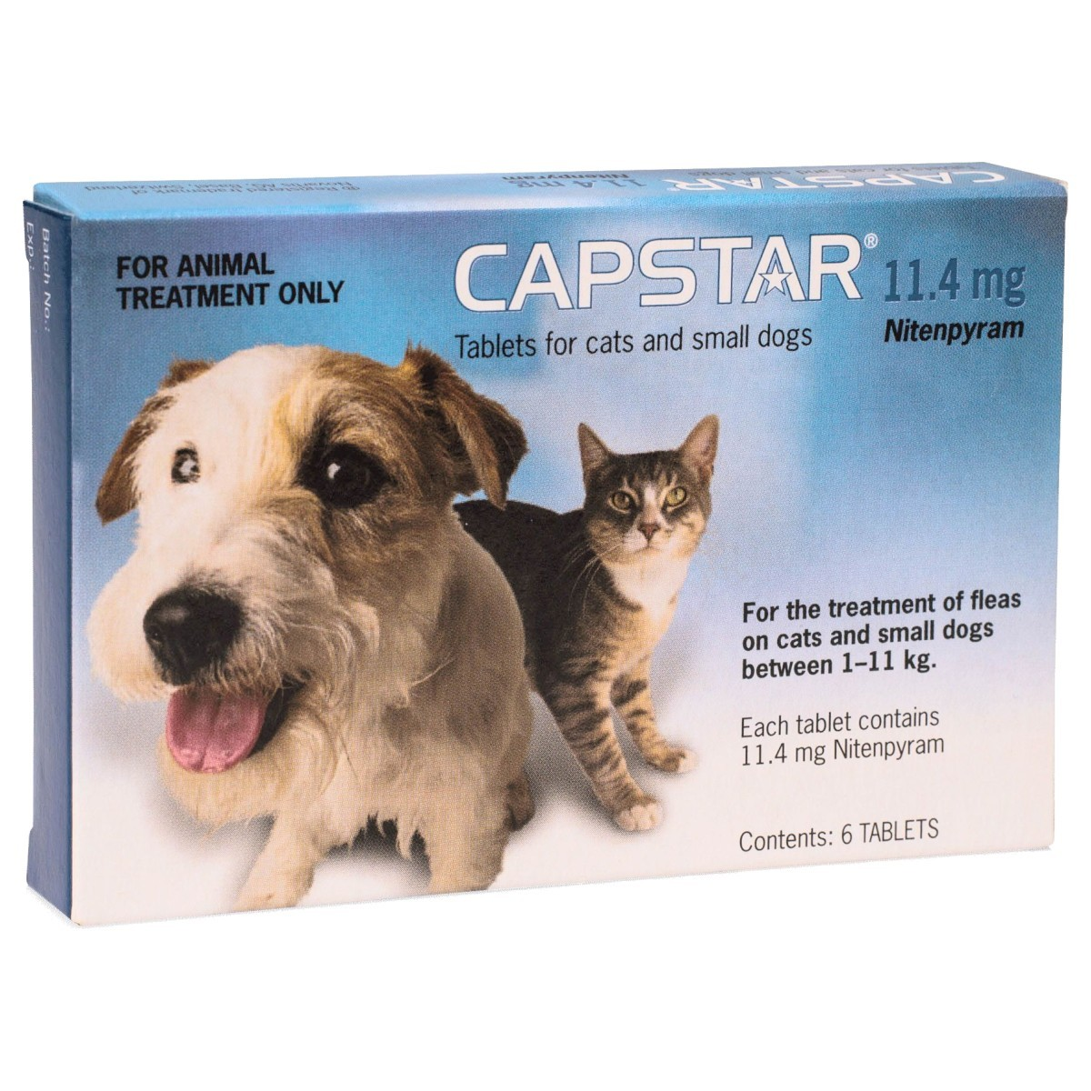 Capstar Flea Tablets For Small Dogs And Cats Pack Of 6 From 13 19