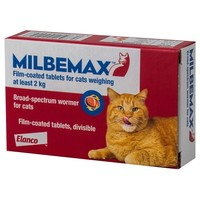 Milbemax Worming Tablets for Adult Cats big image