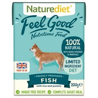 Naturediet Feel Good Wet Food for Adult Dogs (Fish) big image