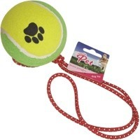 Chanelle Tennis Ball on Elasticated Rope big image