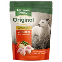 Natures Menu Original Adult Dog Food Pouches (Chicken) big image