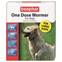 Beaphar One Dose Wormer for Large Dogs big image