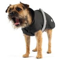 Danish Design 2 in 1 Reflective Dog Coat - Black big image