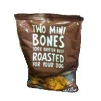Woof & Chew Beef Mini Bones Dog Treats 200g big image