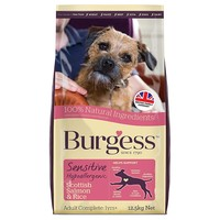 Burgess Sensitive Adult Dog Food (Salmon & Rice) big image