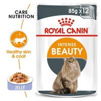 Royal Canin Intense Beauty Care Pouches in Jelly Adult Cat Food big image
