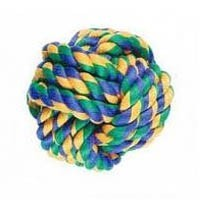 Nuts For Knots Ball Dog Toy big image