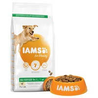 Iams for Vitality Large Breed Adult Dog Food (Fresh Chicken) 12kg big image