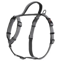 Halti Walking Adjustable Dog Harness (Black) big image