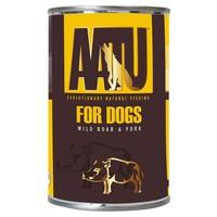 AATU Adult Dog Wet Food Tins (Wild Boar & Pork) big image
