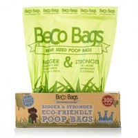 Beco Unscented Degradable Poop Bags (300 Dispenser Pack) big image
