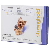 Stronghold 30mg Spot-On Solution for Toy Dogs big image