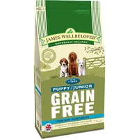 James Wellbeloved Grain Free Puppy/Junior (Fish & Vegetables) 1.5kg big image