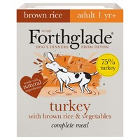 Forthglade Complete with Brown Rice Dog Food (Turkey & Veg) big image