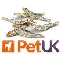 PetUK Advanced Fish Treats for Dogs 200g - Dried Capelin big image