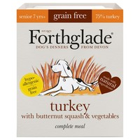 Forthglade Grain Free Complete Senior Wet Dog Food (Turkey) big image