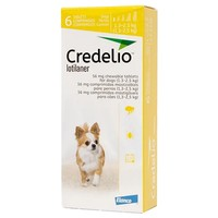 Credelio 56.25mg Chewable Tablets for Dogs (6 Pack) big image