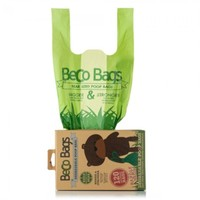 Beco Unscented Degradable Poop Bags with Handles (120 Bags) big image