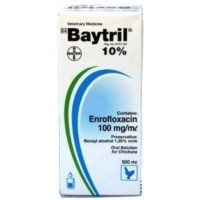 Baytril 10% Oral Solution 100ml big image