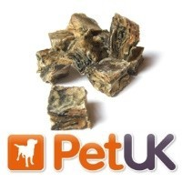 PetUK Advanced Fish Treats for Dogs 300g - Salmon Skin Cubes big image