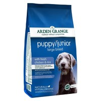 Arden Grange Puppy/Junior Dry Food (Rich in Chicken) 12kg big image
