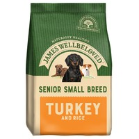 James Wellbeloved Senior Dog Small Breed Dry Food (Turkey & Rice) big image