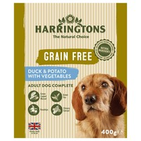 Harringtons Grain Free Wet Food Trays for Dogs (Duck & Potato) big image