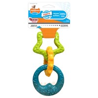 Nylabone Gentle Teething Rings Puppy Chew (Bacon) big image
