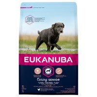 Eukanuba Caring Senior Large Breed Dog Food (Chicken) big image