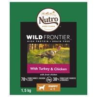 Nutro Wild Frontier Puppy Dry Food (Turkey & Chicken) 1.5kg big image