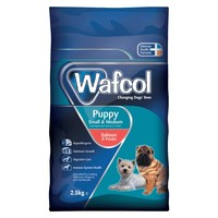 Wafcol Puppy Dry Food for Small and Medium Breeds (Salmon & Potato) 2.5kg big image