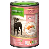 Natures Menu Adult Dog Food 12 x 400g Cans (Chicken with Salmon) big image