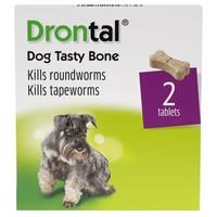 Drontal Dog Tasty Bone Worming Tablets big image