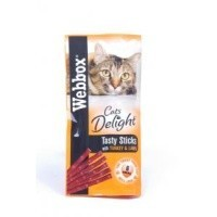 Webbox Cat Delight Treat Sticks - Turkey & Lamb big image