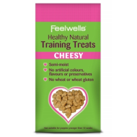 Feelwells Healthy Natural Cheesy Training Treats 115g big image