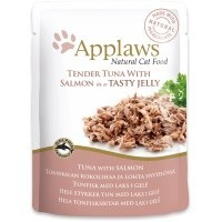 Applaws Adult Cat Food in Jelly 16 x 70g Pouches (Tuna with Salmon) big image