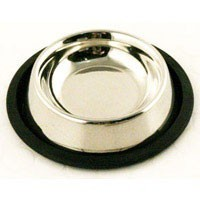 Stainless Steel Non Slip Cat Dish Bowl 6 Inches big image