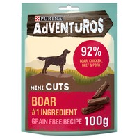 Purina Adventuros Mini Cuts with Wild Boar 100g big image
