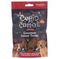 Rosewood Cupid & Comet Luxury Gourmet Goose Treats for Dogs 90g big image
