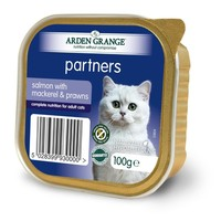 Arden Grange Partners Cat Food 16 x 100g Tins (Salmon with Mackerel & Prawns) big image