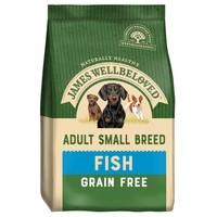 James Wellbeloved Adult Dog Grain Free Small Breed Dry Food (Fish & Vegetables) 1.5kg big image