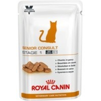 Royal Canin Senior Consult Stage 1 Cat Food Pouches 12 x 100g big image