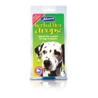 Johnson's Herbal Flea Drops for Dogs 4 Weeks big image