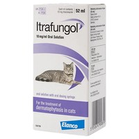 Itrafungol 10mg/ml Oral Solution for Cats big image
