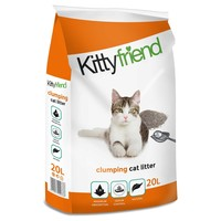 Kittyfriend Clumping Cat Litter 20L big image